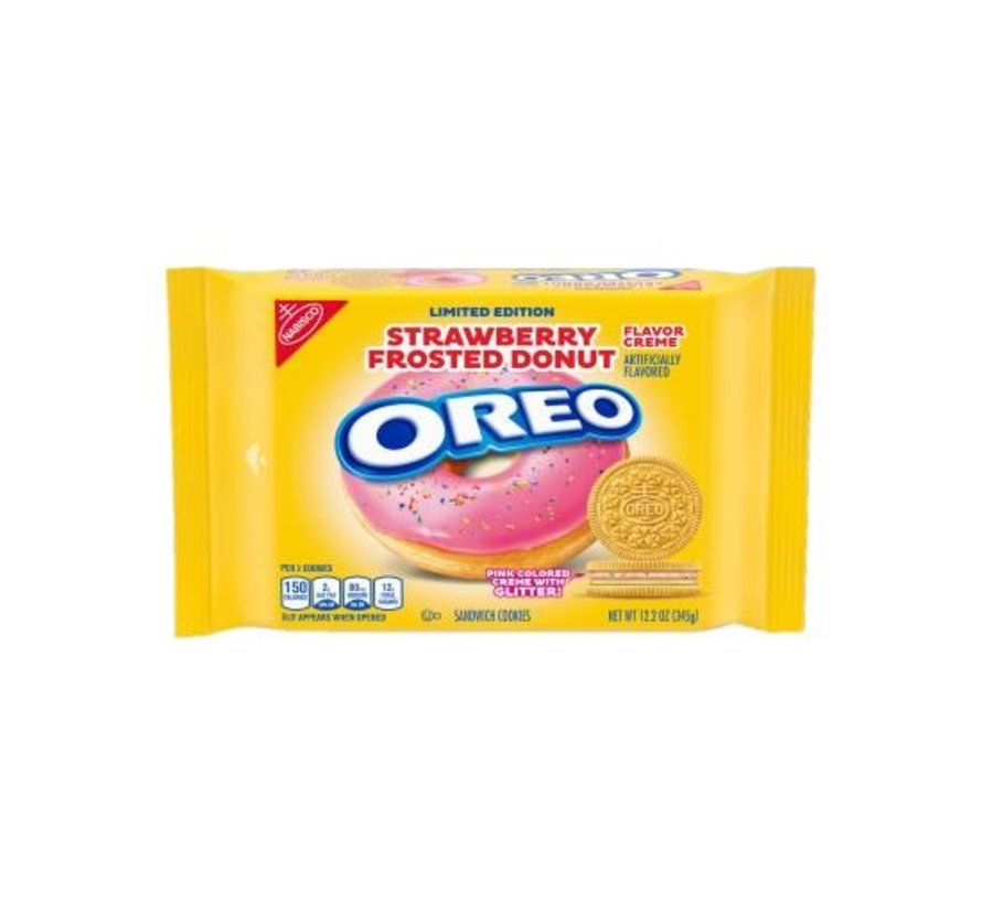 Oreo Limited Edition Strawberry Frosted Donut