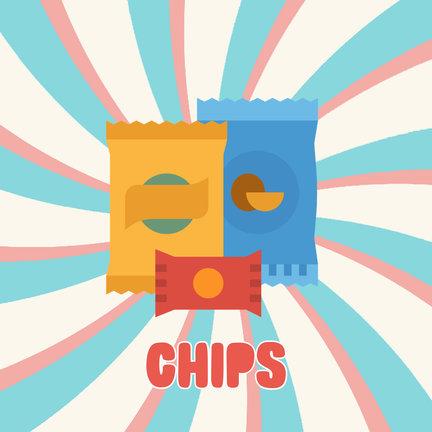 Diverse chips soorten
