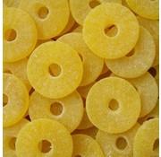 Ananas schijven gesuikerd