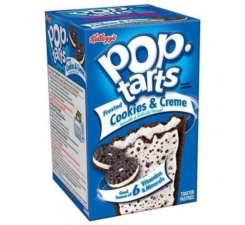 Kellogs Pop Tarts Cookies & Cream