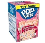 Kellogs Pop Tarts Strawberry Milkshake