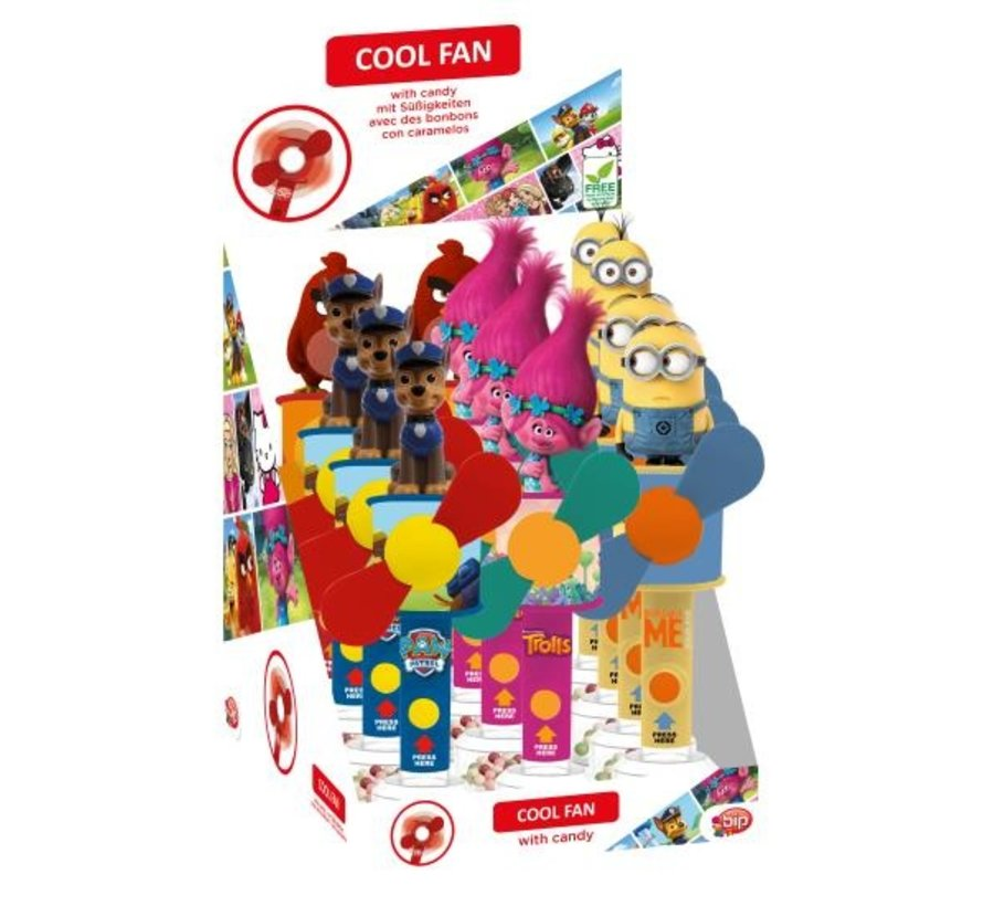 Bip Coolfan With Candy Wage