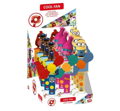 Bip Coolfan With Candy Minion
