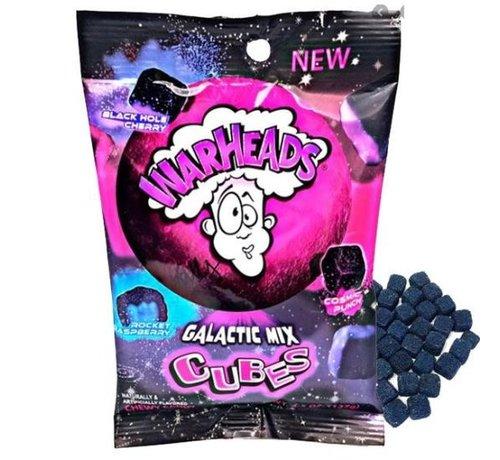 Warheads Warheads Galactic Mix Cubes
