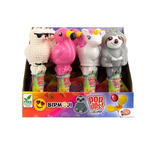 Bip Bip Moji Pop Up Sloth