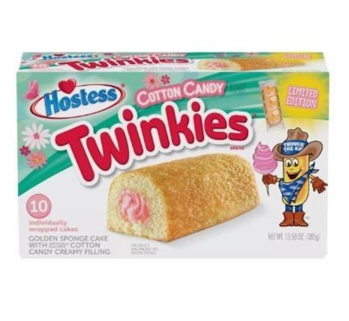 Hostess Brands Twinkies Limited Cotton Candy