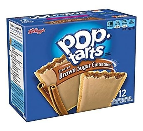 Kellogs Pop Tarts Brown Suger Cinnamon