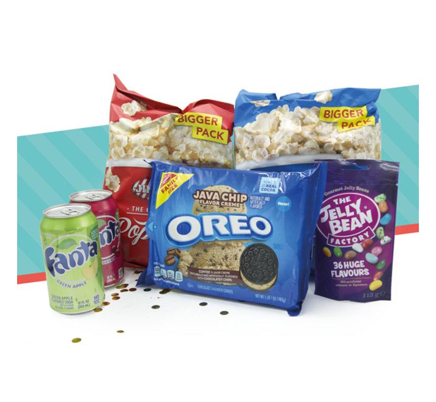 'Happy movie night!' box