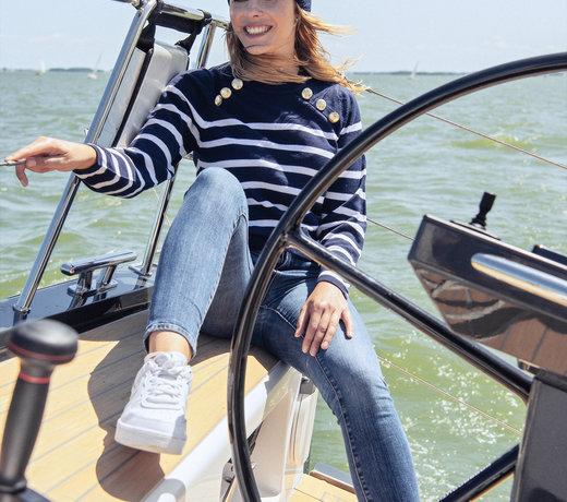 Nautical womenswear
