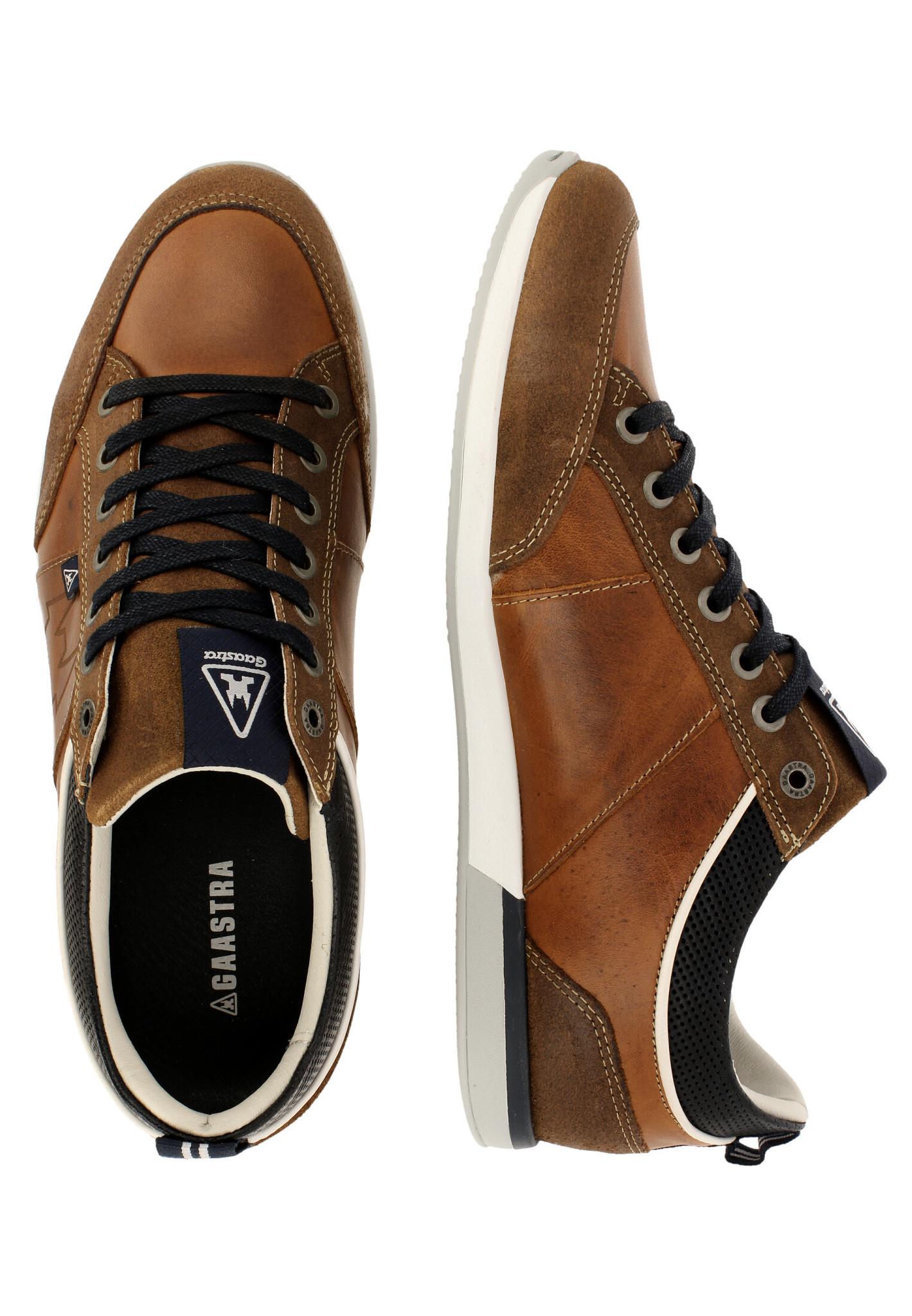 Sneakers BAYLINE - cognac