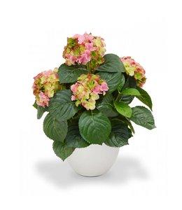Hortensia Deluxe 45 cm roze