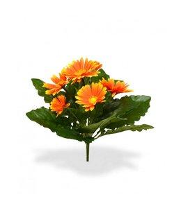 Gerbera Kunstboeket 30 cm oranje