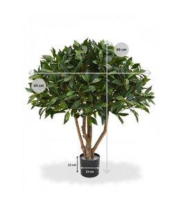 Laurier bal op stam 70 cm kunstplant