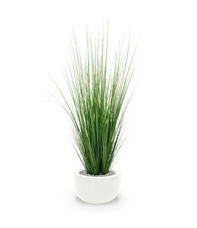 Kunst grasplant 100 cm in pot
