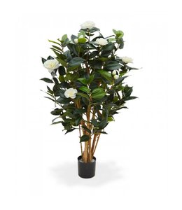 Camelia Japonica Deluxe kunstplant 100 cm creme