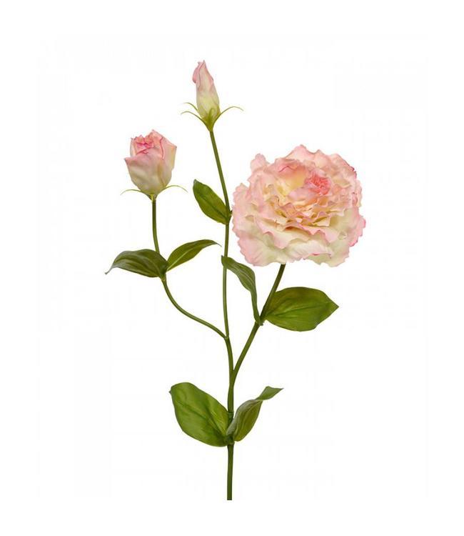 Lisianthus kunst steelbloem 80 cm roze