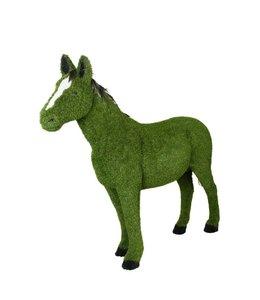 Kunstgras paard staand