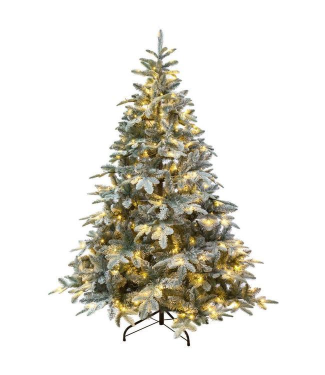 Excellent Trees kunstkerstboom besneeuwde Otta 210 cm met LED verlichting