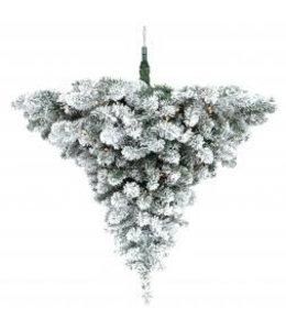 LED Scottsdale Plafond hangkerstboom besneeuwd 120 cm