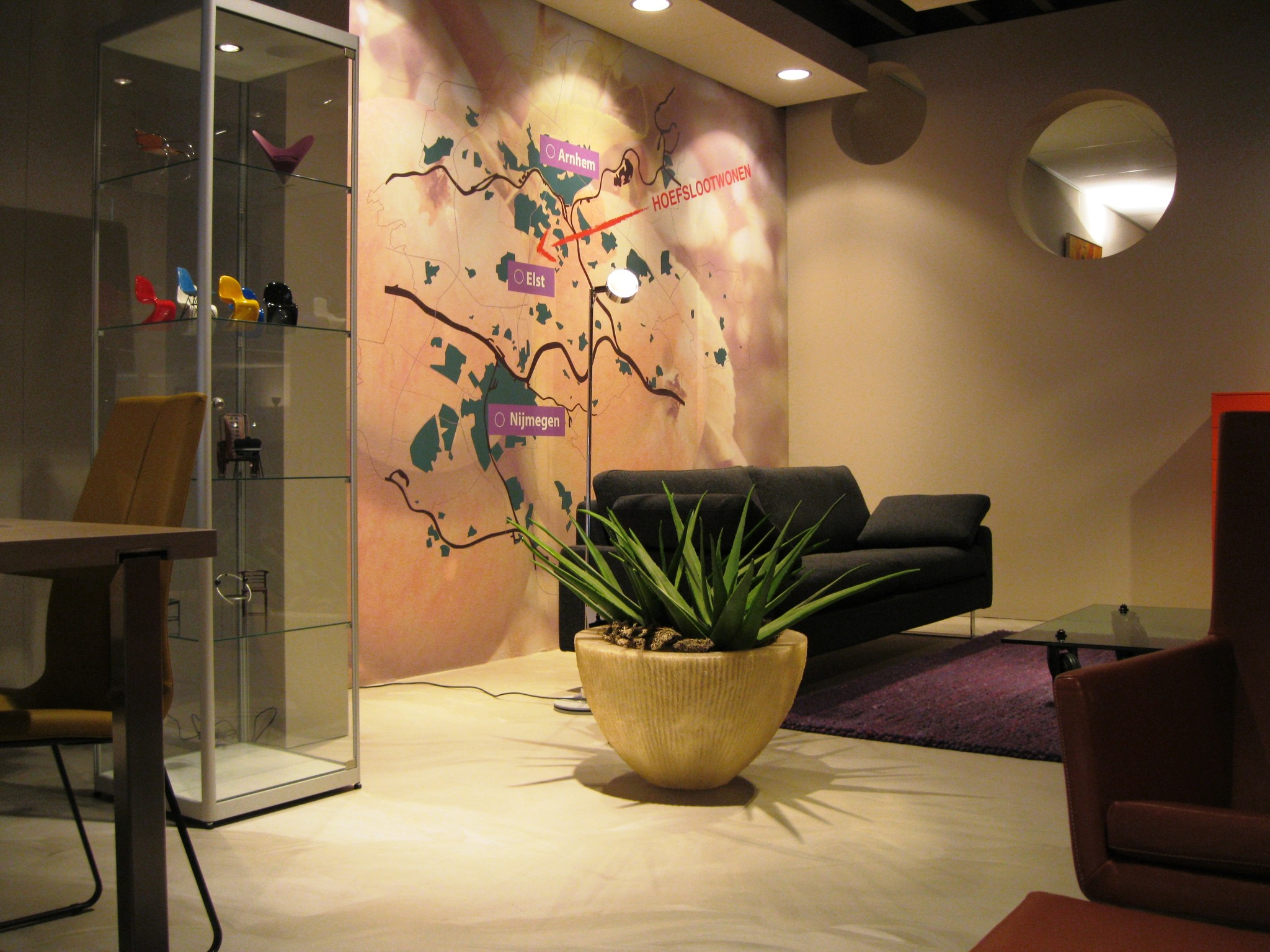 Kunstplanten.nl project Hoefsloot Wonen showroom