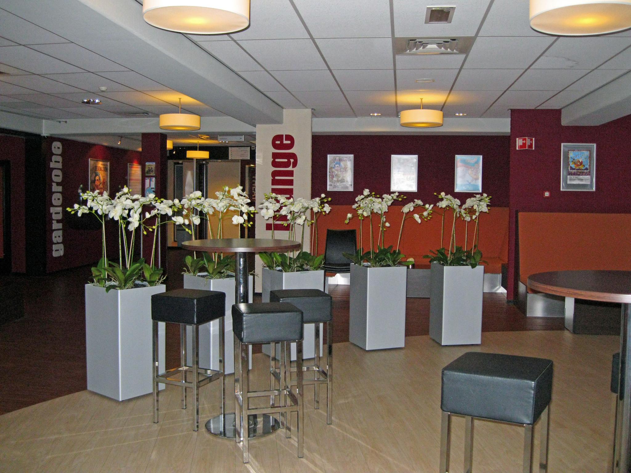 Kunstplanten.nl project Carrousel Ommen orchideeën