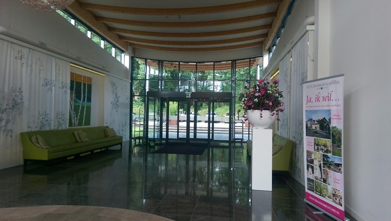 Kunstplanten.nl project Fletcher Hotel Doorwerth entree