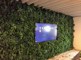 Kunstplanten.nl project Jungle wand Vegetatiematten Grof