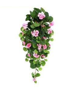 Hanggeranium roze 90cm
