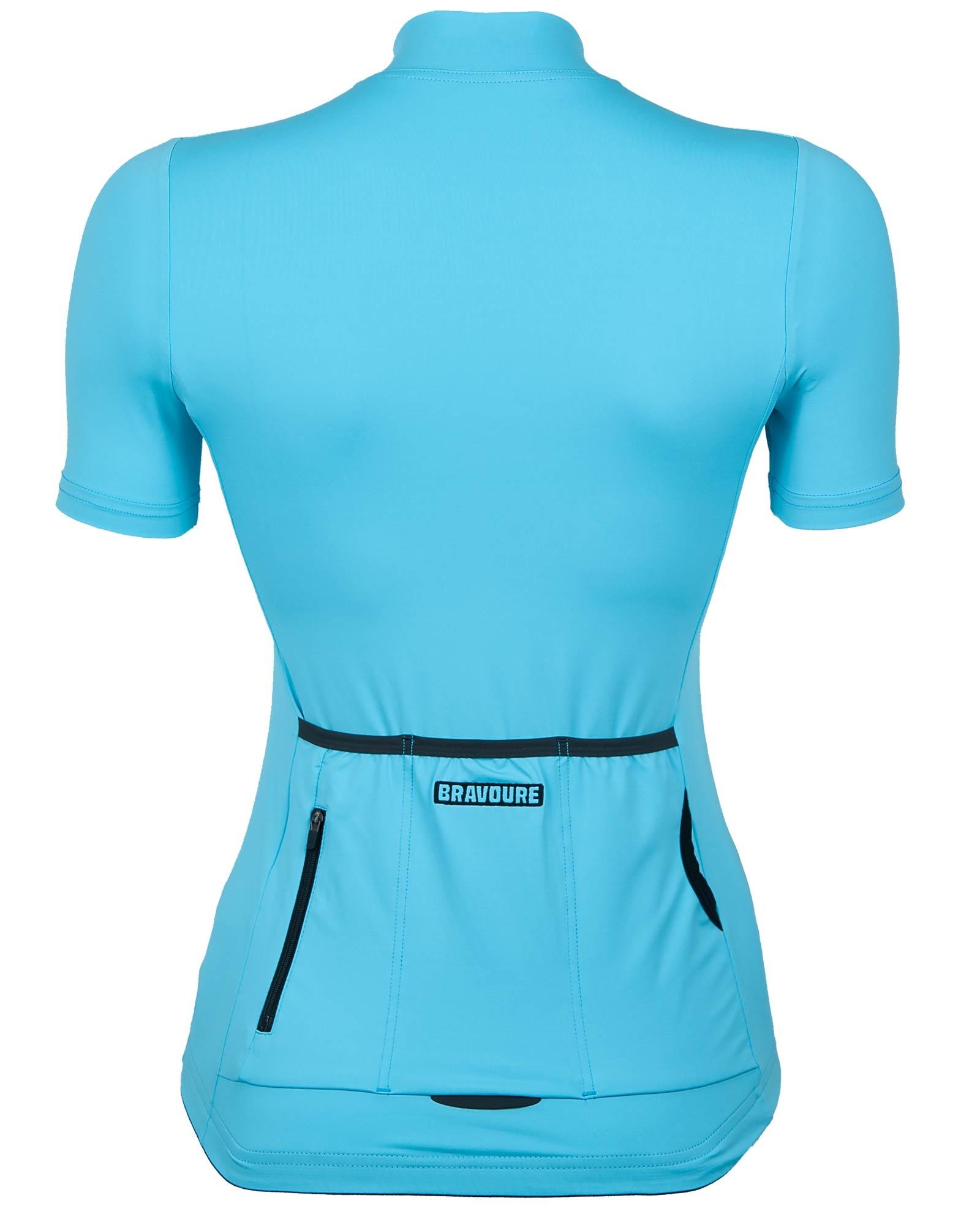 Dames Rouleur Shirt   Poolside Blauw-2