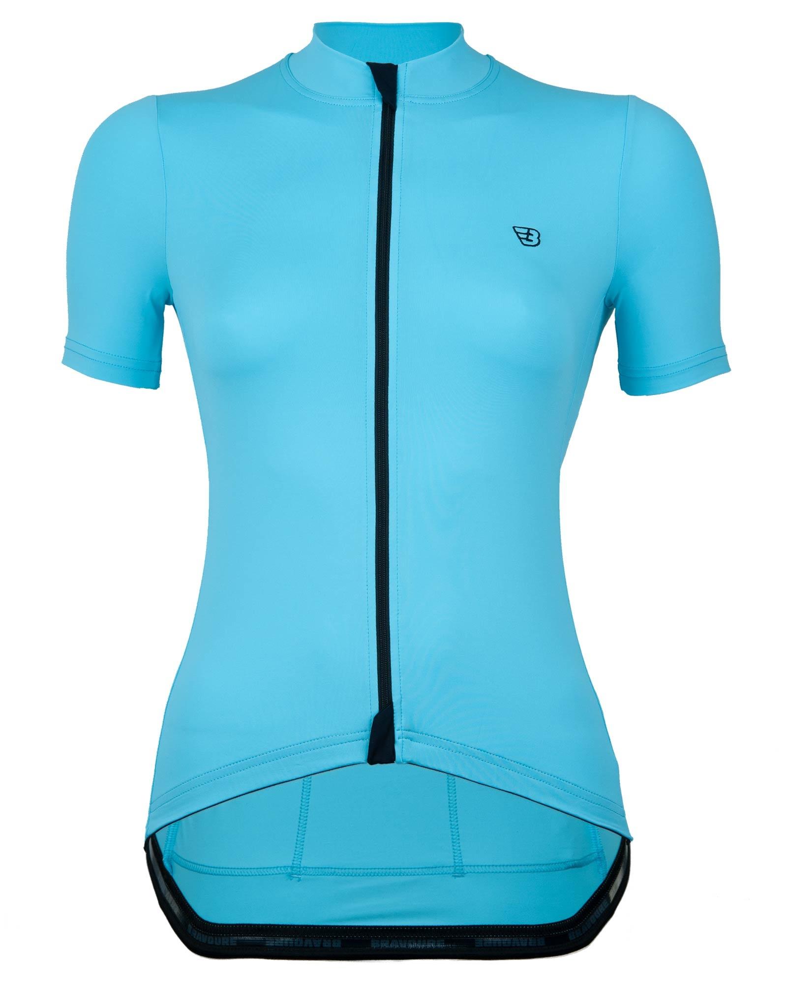 Dames Rouleur Shirt   Poolside Blauw-1