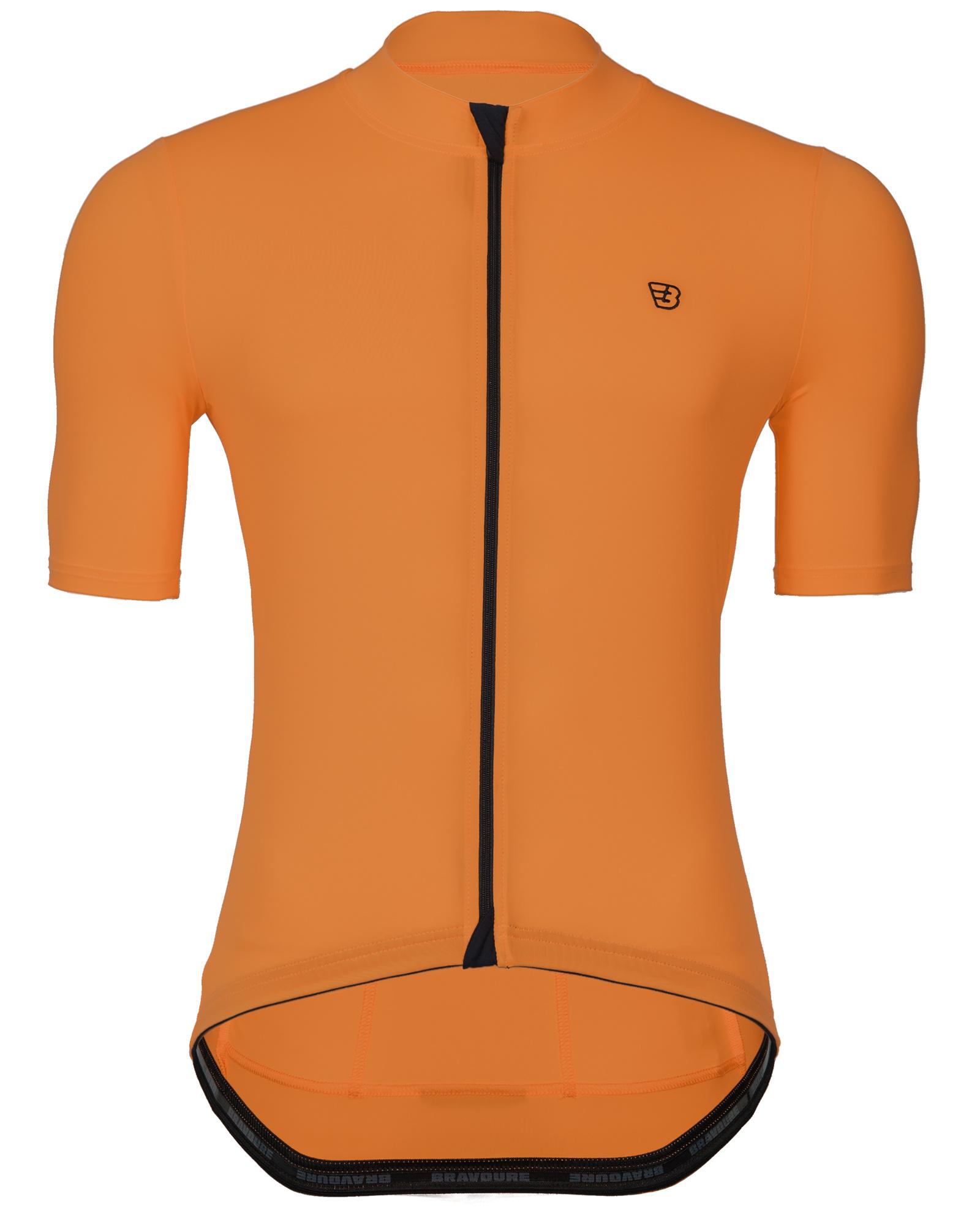 Men's Rouleur Jersey   Inca Orange-1