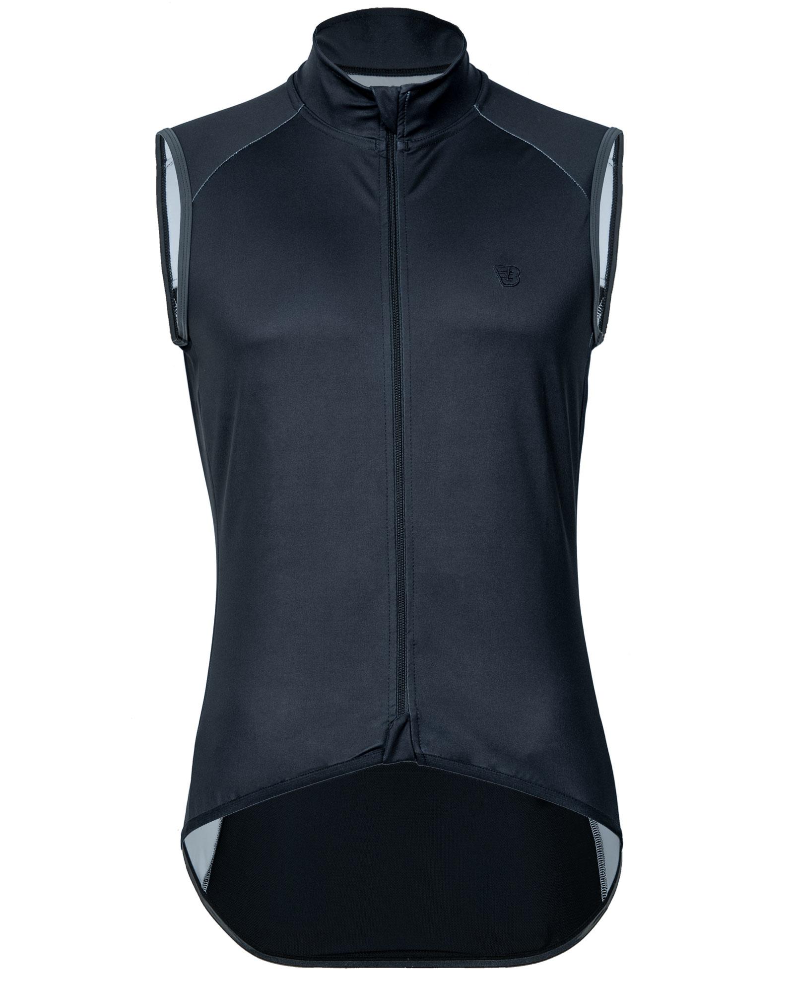 Heren Rouleur All Weather Vest | Storm Zwart-1