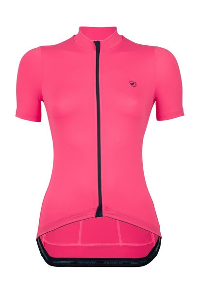 WOMEN'S ROULEUR JERSEY | HAPPINESS PINK
