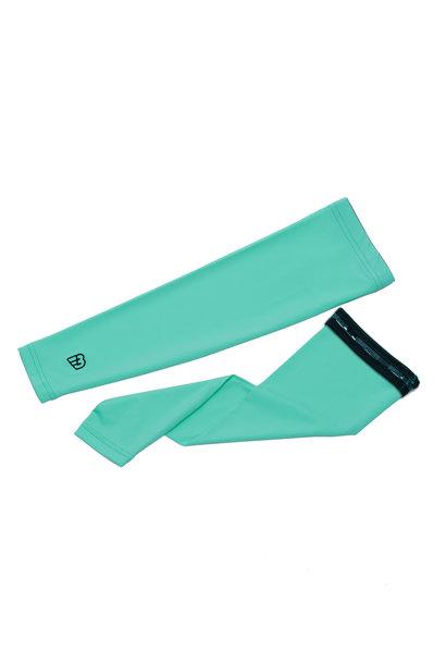 WOMEN'S ROULEUR ARM SCREENS | FLUID GREEN