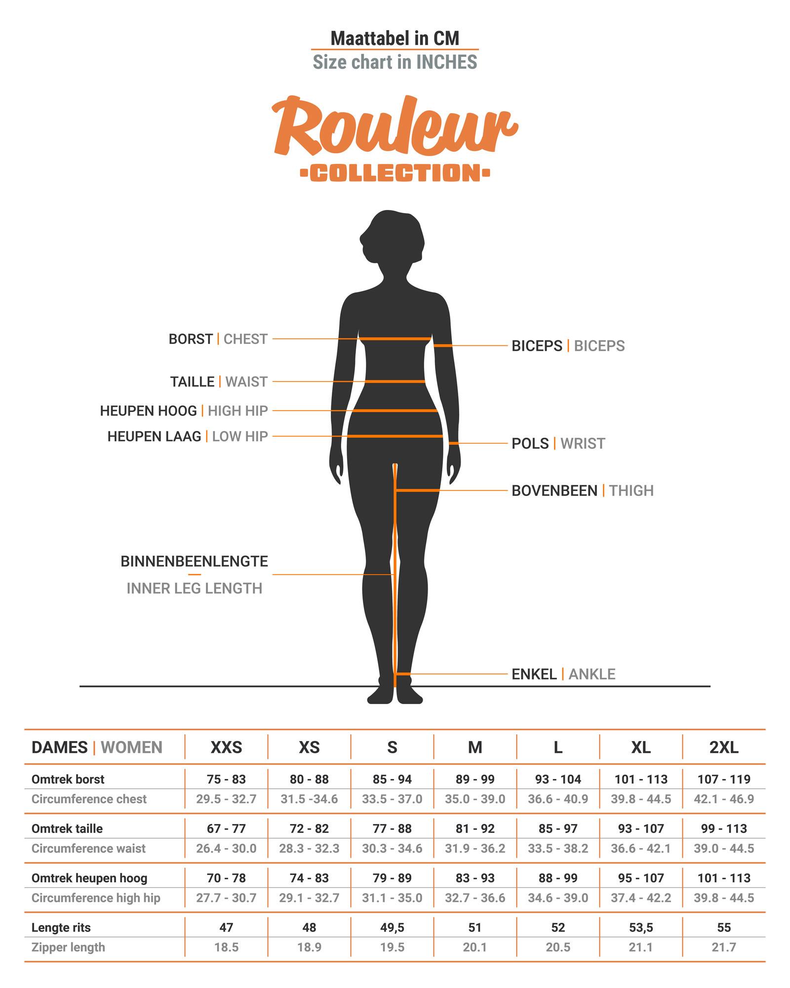Dames Rouleur Shirt   Poolside Blauw-3