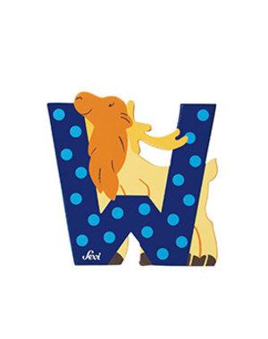 Dierenletter W (oud)