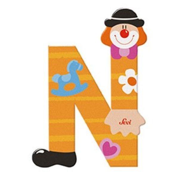 Clownletter N
