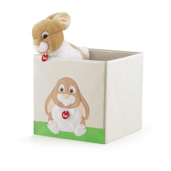 Speelgoedkist klein konijn Oliviero