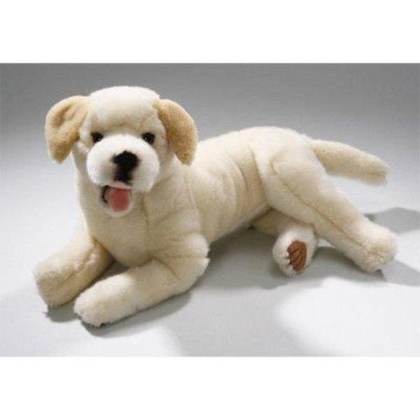 Liggende Blonde Labrador 37 cm