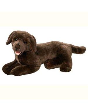 Liggende Bruine Labrador, 37,5 cm