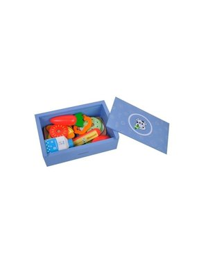Lunch Box Blauw