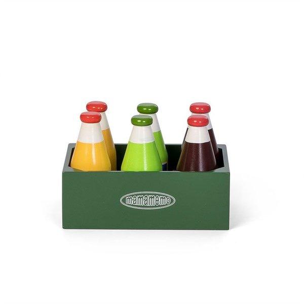 Flessen in een Kistje