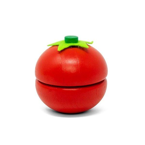Tomaat uit twee helften