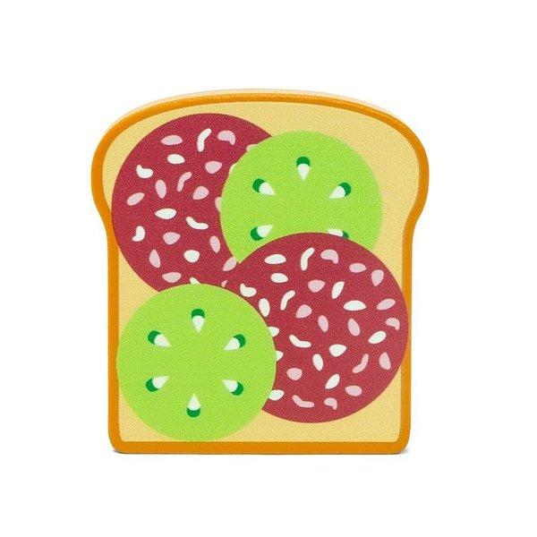 Boterham met salami