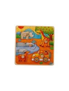 Knop Puzzel Safari