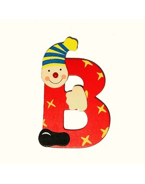 Mamamemo Clown letter B (6 ST)