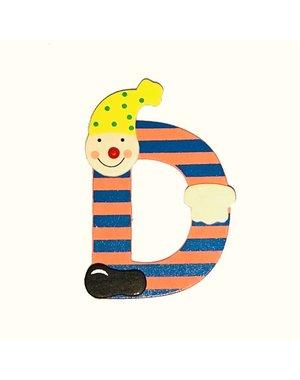 Mamamemo Clown letter D (6 ST)