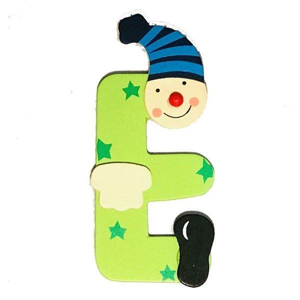Mamamemo Clown letter E (6 ST)