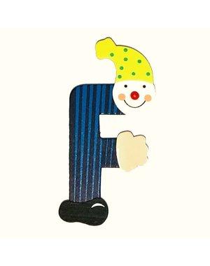 Mamamemo Clown letter F (6 ST)