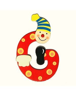 Mamamemo Clown letter G (6 ST)